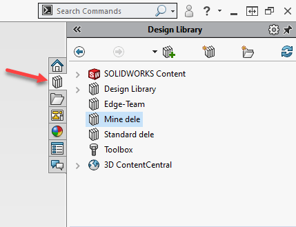 SOLIDWORKS Design Library
