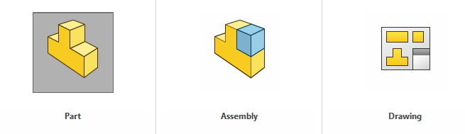 Parter, Assembly og Drawing