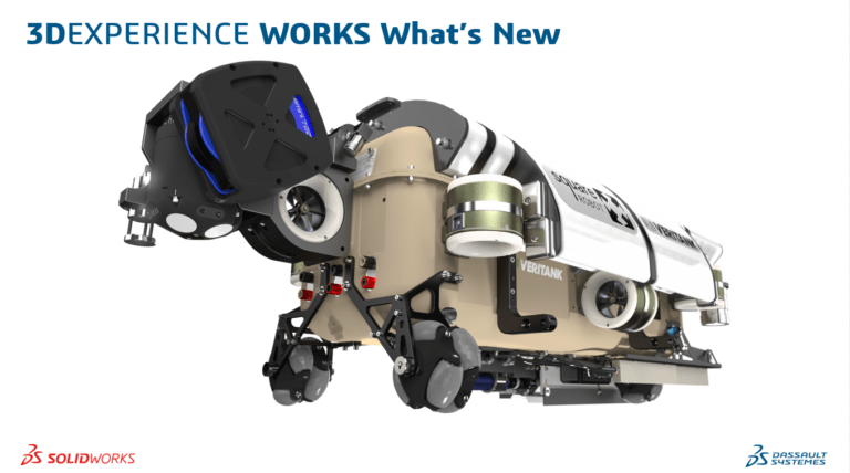 SOLIDWORKS 3DEXPERIENCE What's new