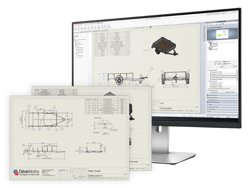 solidworks DriveWorkssolo drawings