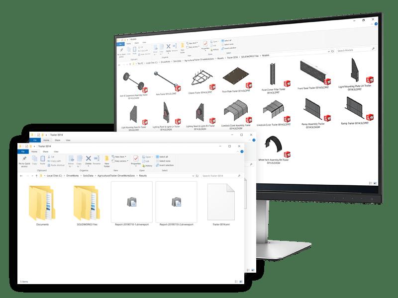 solidworks DriveWorkssolo files