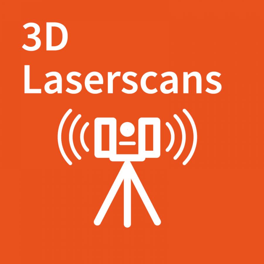 3D laserscans logo