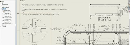solidworks-2021-drawing-detailing-mode