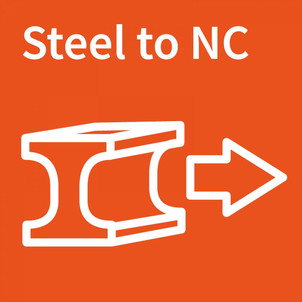 steel to NC logo